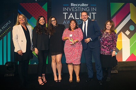 2017 Recruiter Investing in Talent Awards